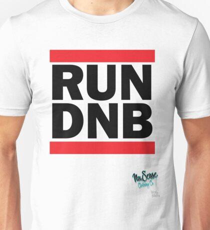 RUN DNB Design - Blk  T-Shirt