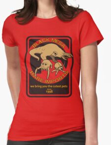 Black Mesa rare imports. Womens Fitted T-Shirt