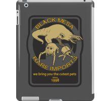 Black Mesa rare imports. iPad Case/Skin