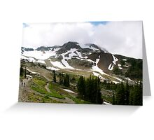 August Snow Greeting Card