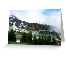 Mountain Pond Greeting Card