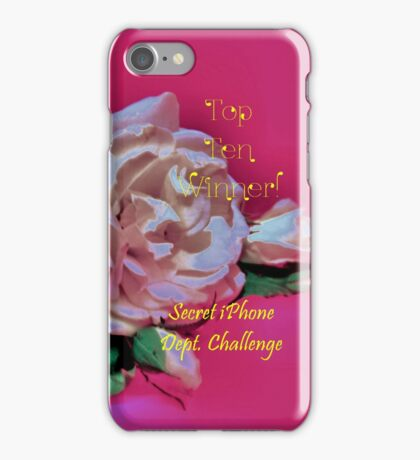 Banner - SID - Top Ten Winner iPhone Case/Skin