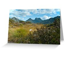 Cradle Mountain view Greeting Card