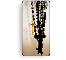 Rosary Beads Canvas Print