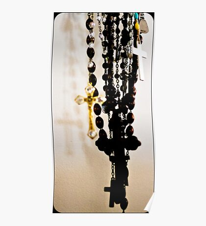 Rosary Beads Poster