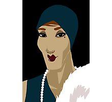 Art Deco - Viola Photographic Print