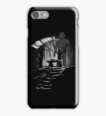 Klaatu Barada N... iPhone Case/Skin
