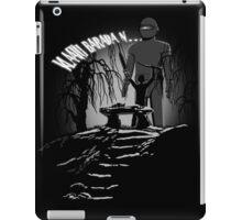 Klaatu Barada N... iPad Case/Skin