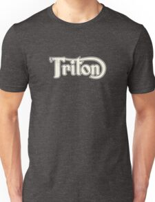 Triton Classic Motorcycles in Vintage Cream Unisex T-Shirt