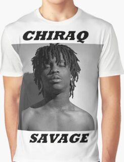 CHIRAQ SAVAGE Graphic T-Shirt