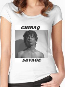 CHIRAQ SAVAGE Women's Fitted Scoop T-Shirt