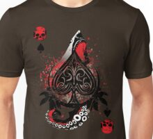 Blackout Poker-Shark Bait Distressed Unisex T-Shirt