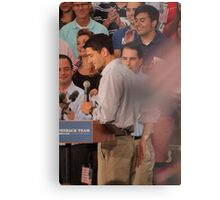 Paul Ryan wafts one to the crowd Metal Print