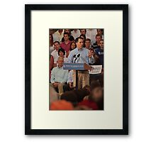 Scott Walker Pronouncing Vowels Framed Print