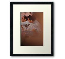 Scott Walkers Bald Spot Framed Print