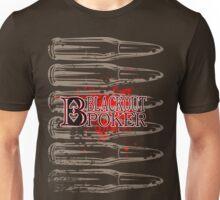 Blackout Poker-Bullets Unisex T-Shirt