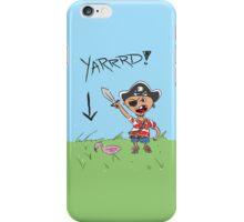 Pirate Lawn iPhone Case/Skin