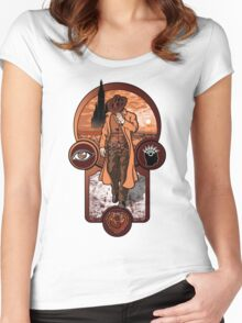 The Gunslinger's Creed. Women's Fitted Scoop T-Shirt