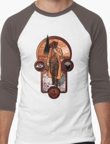 The Gunslinger's Creed. Men's Baseball ¾ T-Shirt