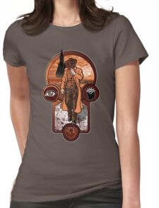 The Gunslinger's Creed. Womens Fitted T-Shirt