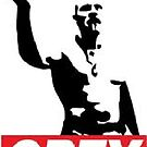 Techno Viking - OBEY! (for iPhone case!) by pwnster1357