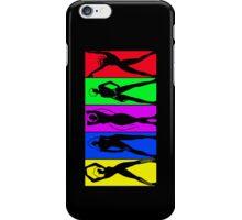 Gamer Girls Silhouettes iPhone Case/Skin