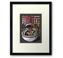 Dragon Noodles Framed Print