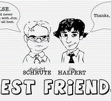 Best Friends by ElocinMuse