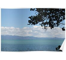 Coastal view, Coromandel Peninsula, New Zealand Poster