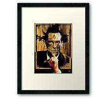 consider holmes Framed Print