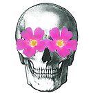 Flowering skull  by Sophie Moates