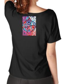 Colored Bubbles - 3 Women's Relaxed Fit T-Shirt