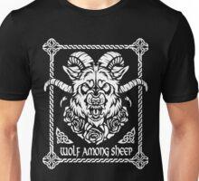 Wolf among sheep Unisex T-Shirt