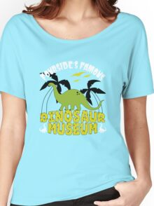 Dinosaur Museum Women's Relaxed Fit T-Shirt