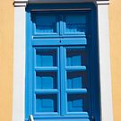 Blue Window And Shutters by phil decocco