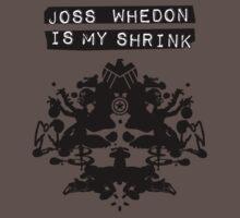 """Joss Whedon Is My Shrink"" - Dark One Piece - Short Sleeve"