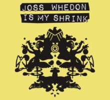 """Joss Whedon Is My Shrink"" - Dark One Piece - Short Sleeve"