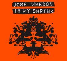 """Joss Whedon Is My Shrink"" - Dark Kids Tee"