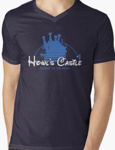 Howl's Castle Mens V-Neck T-Shirt