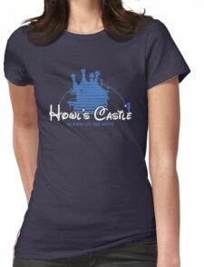 Howl's Castle Womens Fitted T-Shirt