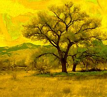 Van Gogh's Cottonwood Tree by Paul Ewing