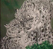 Snow Leopards by silentsunlight