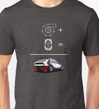 Forced Induction Equation 2 (White) Unisex T-Shirt
