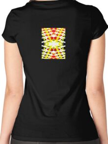 Colored Tops - 4 Women's Fitted Scoop T-Shirt