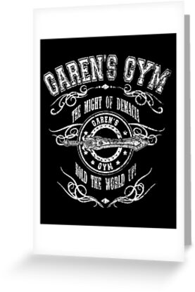Garen's Gym by J.C. Maziu