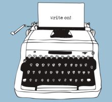 Write On Typewriter by Karl Whitney