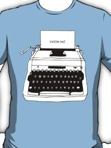 Write On Typewriter T-Shirt