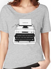 Write On Typewriter Women's Relaxed Fit T-Shirt