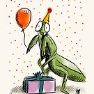 Partying Mantis by twisteddoodles
