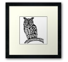 The Weight of Wisdom Framed Print